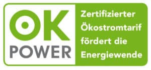 Das ok-power Siegel